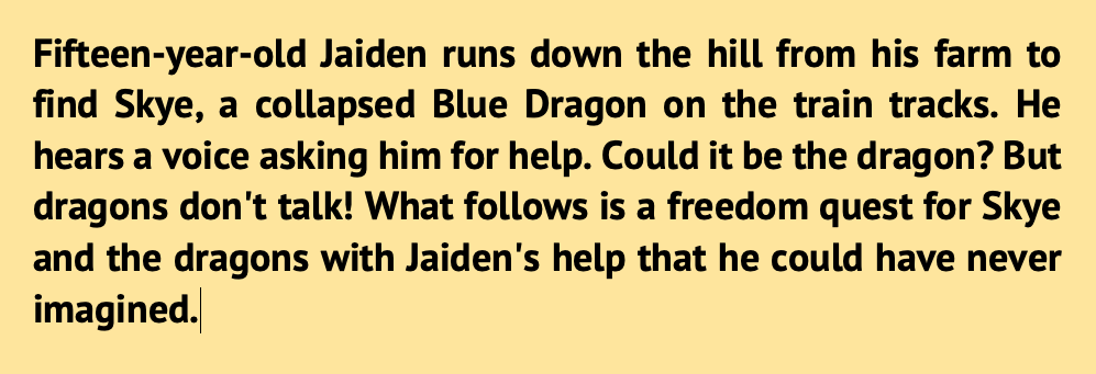 Dragon Train blurb 2